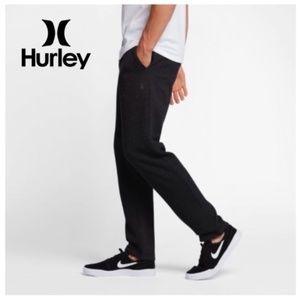 Hurley Fleece Pants Sweatpants - Heather Black XL